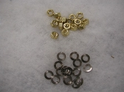 32 pc. Brass Exhaust Manifold Nut Set - Most Models