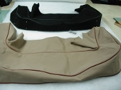 Boot Cover - XK120 Drophead Coupe