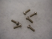 6 pc. SS Carburetor Bell Screws Set - Models with SU Carbs