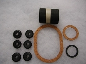 10 pc. Fuel Tank Parts/Hose Set - XKE Series I & II