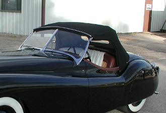Convertible Top (Short Style) - Early XK120 IN STOCK