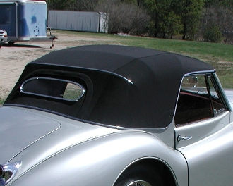 Convertible Top - XK120 Drophead Coupe