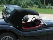 Convertible Top (Long Style) - XK140 Roadster (1955-57)